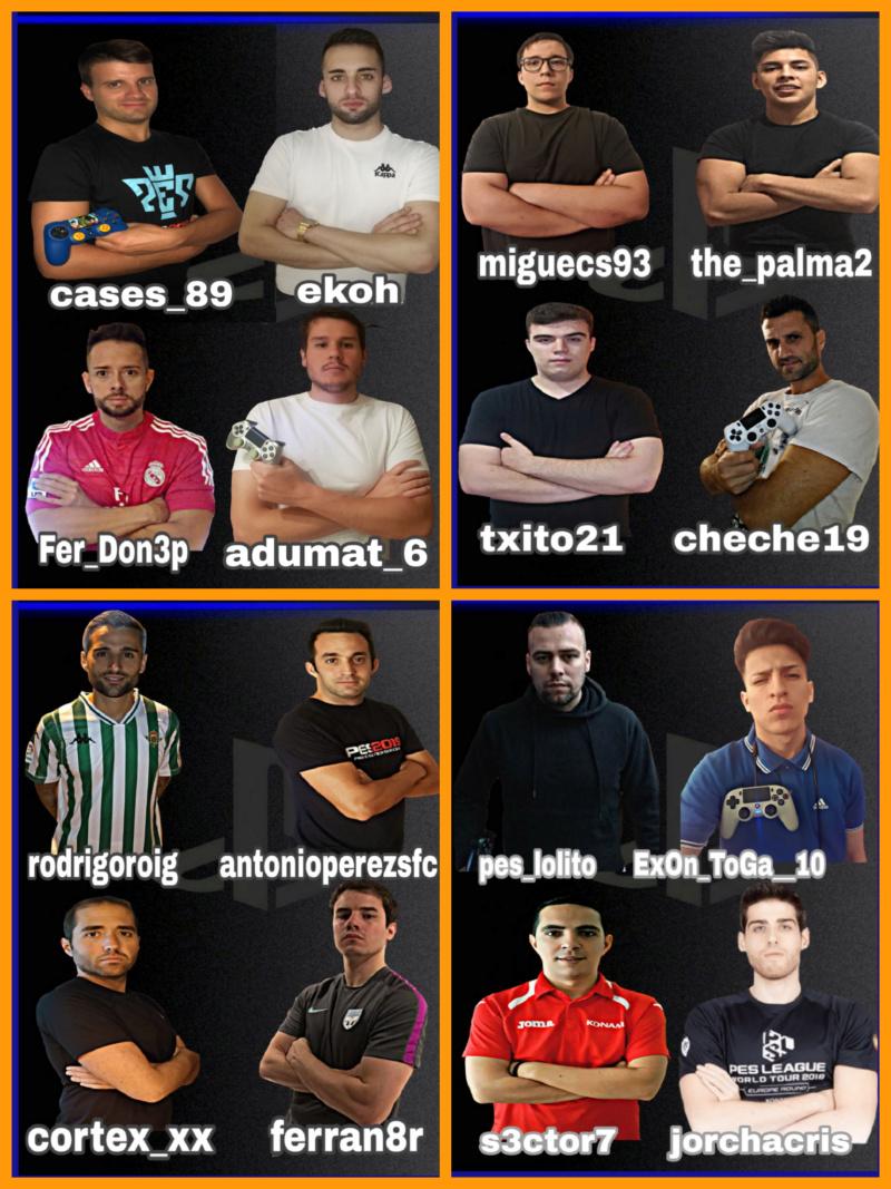 LOS 16 MANAGERS PES INTERNACIONAL CUP Picsar49