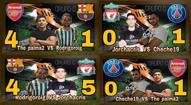 JORNADAS 1-2 GRUPO C INTERNACIONAL CUP Picsar99