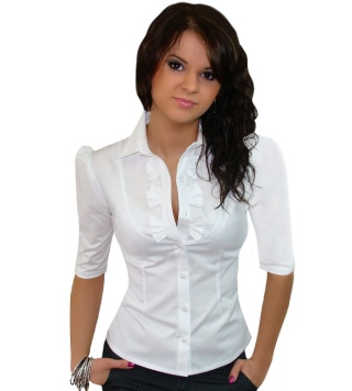 Белая блузка на все случаи жизни 48620810
