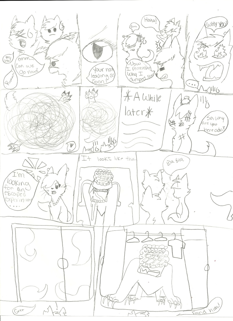 Resident Evil Cat Style Comic! Scan0019