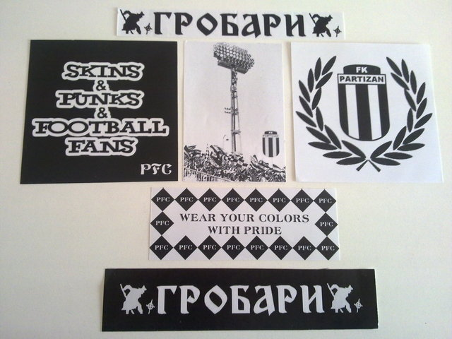 Stickers from your club/country 20112010