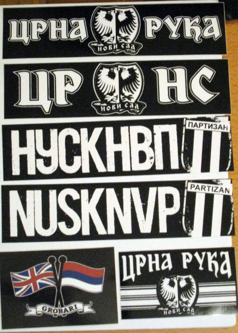 Stickers from your club/country 2z891010