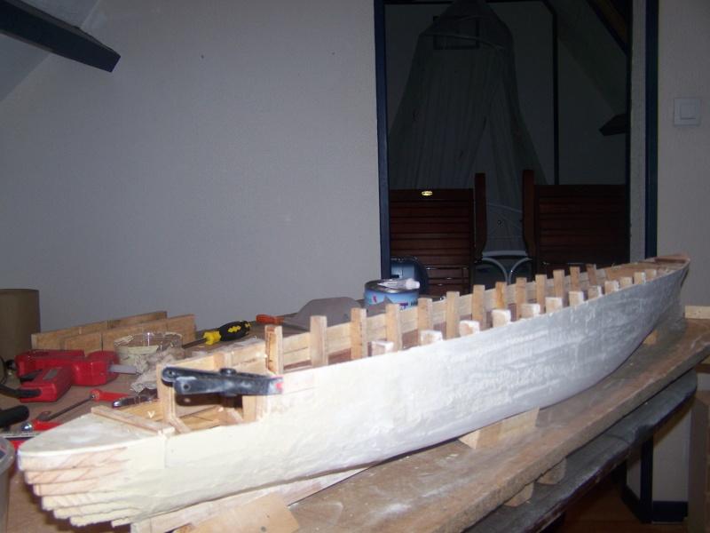 Construction du Paquebot FRANCE au 1/200 plan MRB en 2010 100_2323