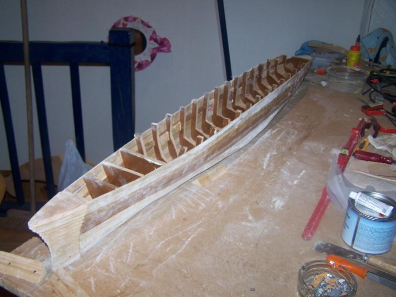 Construction du Paquebot FRANCE au 1/200 plan MRB en 2010 100_2324