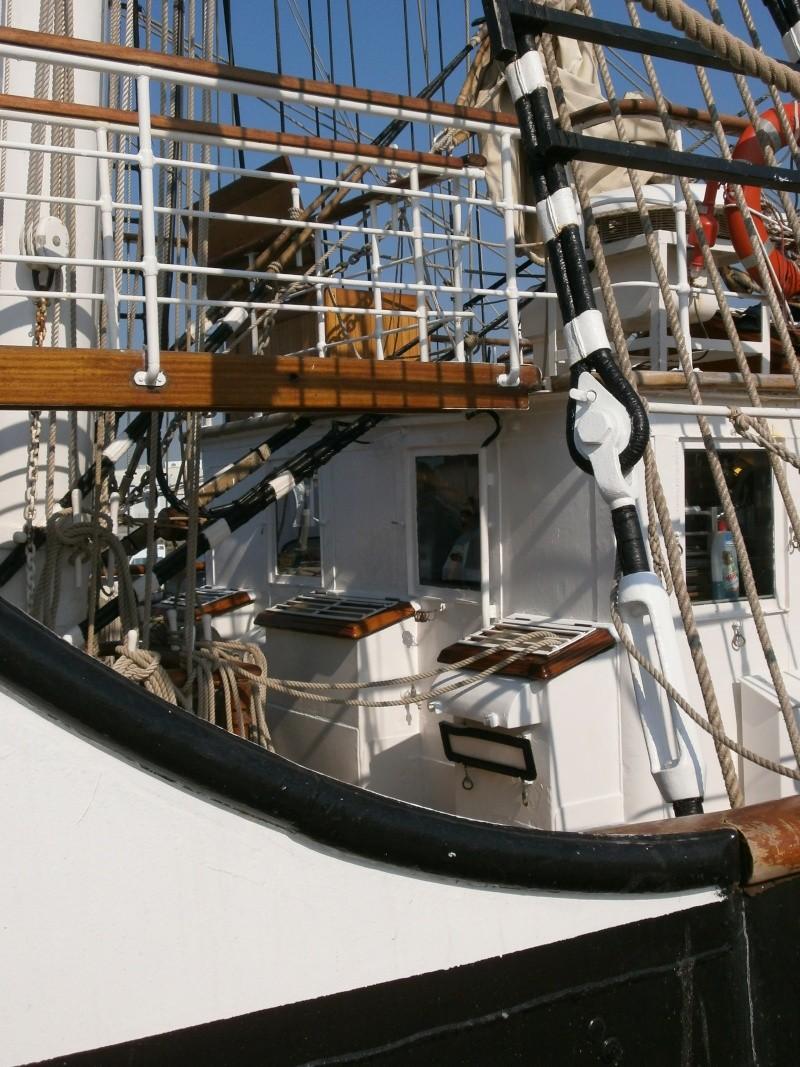 Arrivée du BELEM au port de Calais aujourd'hui P5290018