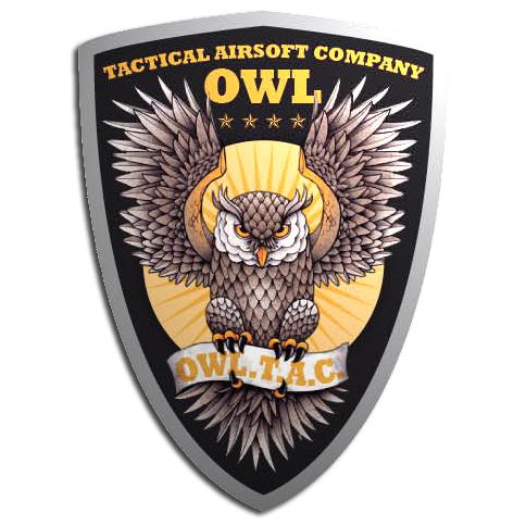 OWL T.A.C MilSim (Tactical Airsoft Company) Logo10