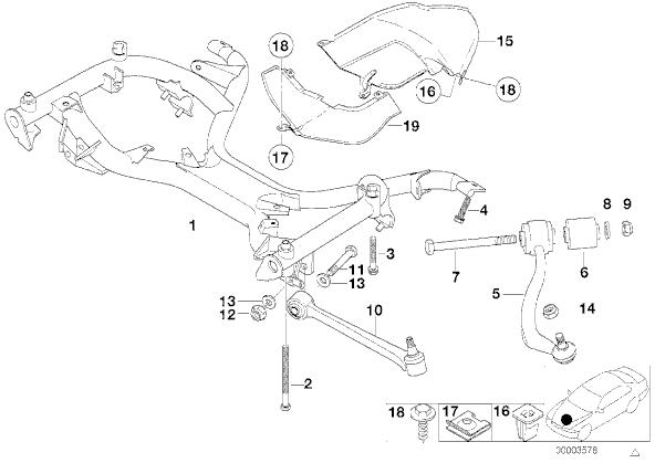 Changement des amortisseurs Avant [ 740i E38 ] 310