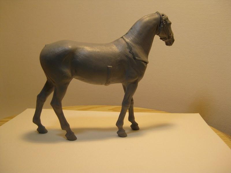 Kleines Tischfotostudio im Selbstbau Pferd_12