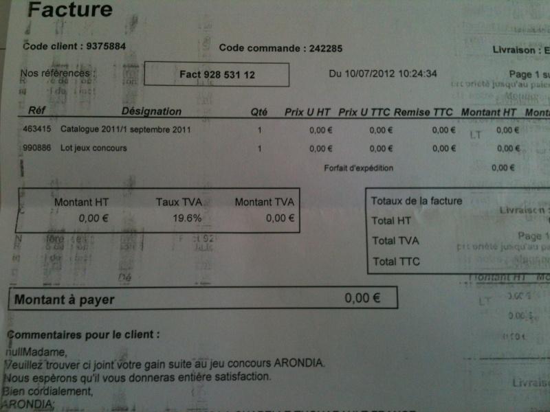 Jeu concours Arondia, Merci Arondia !! Img_1410