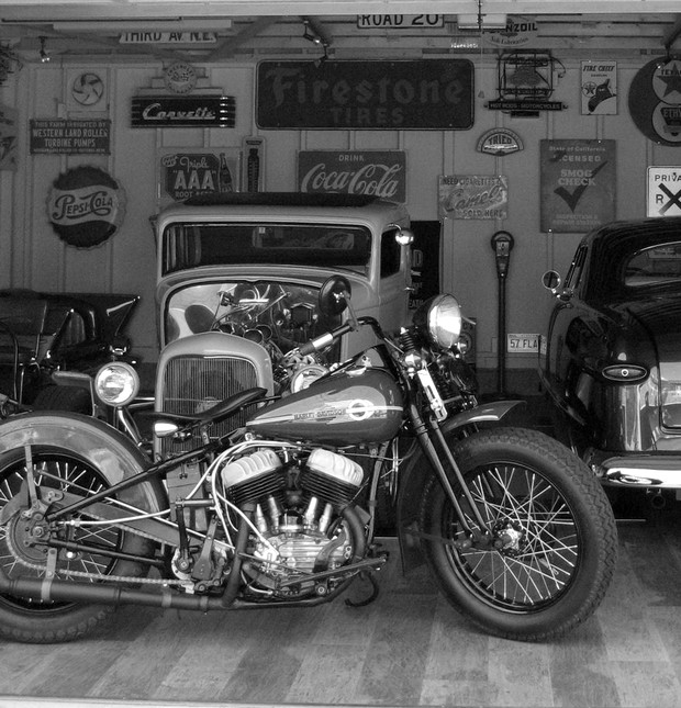 Les vieilles Harley....(ante 84)..... - Page 37 Flat10