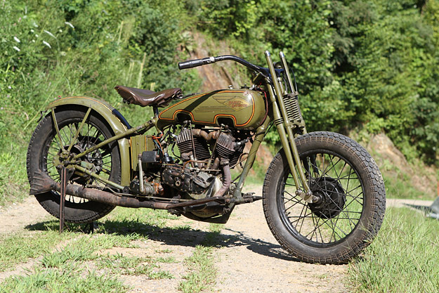 Les vieilles Harley....(ante 84)..... - Page 38 Harley47