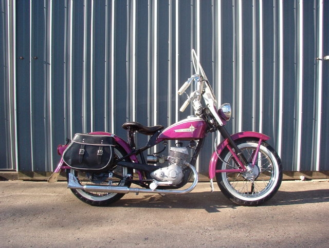 Les vieilles Harley....(ante 84)..... - Page 2 Pink10