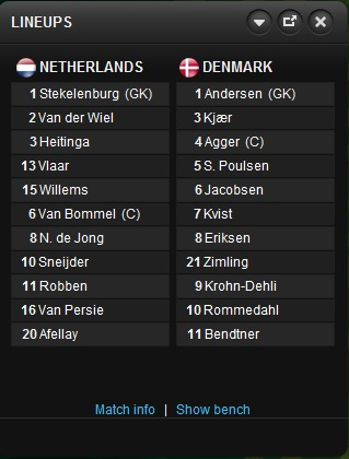 Netherlands - Denmark Nether10
