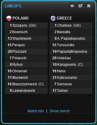 Pembukaan: Poland - Greece Poland10