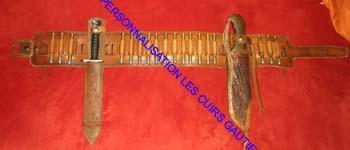 Cartouchière de grande chasse 45_12011