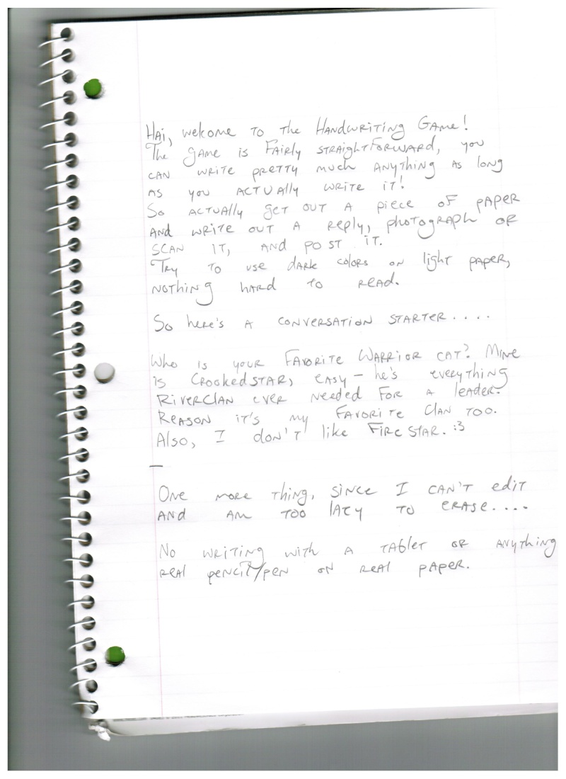 The Handwriting Game Handwr10
