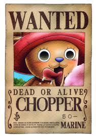 Fiche : Tony Tony Chopper Wanted10