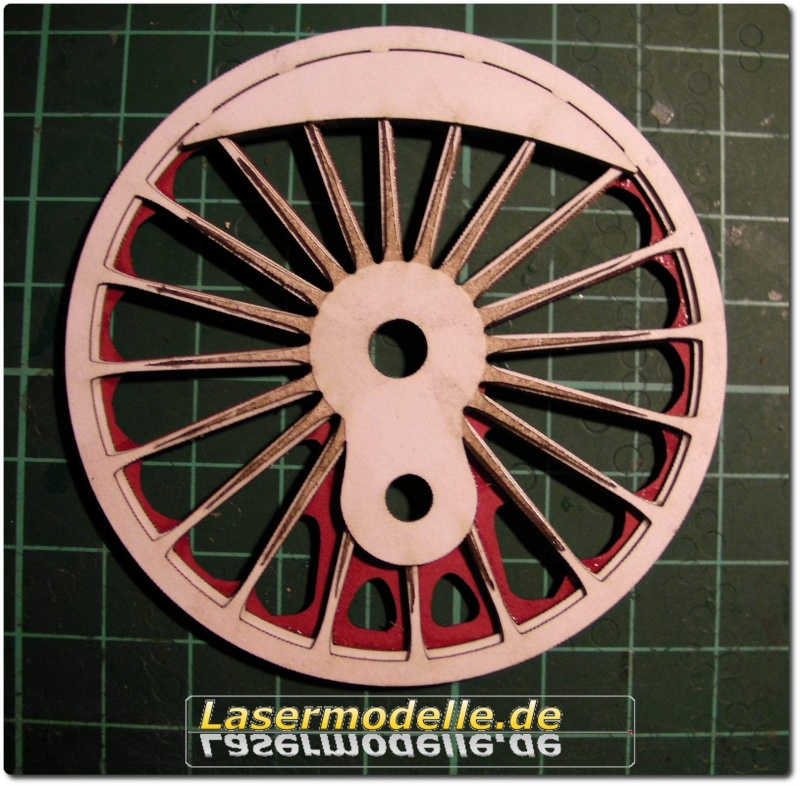 LC-Treibräder für die PU 29 in 1:25 Sany2629