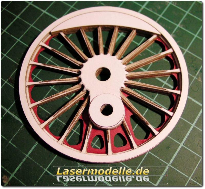 LC-Treibräder für die PU 29 in 1:25 Sany2630