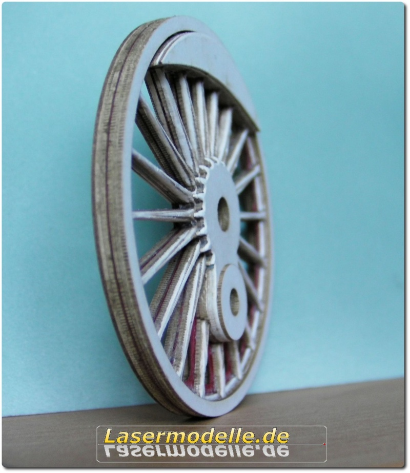 LC-Treibräder für die PU 29 in 1:25 Sany2632