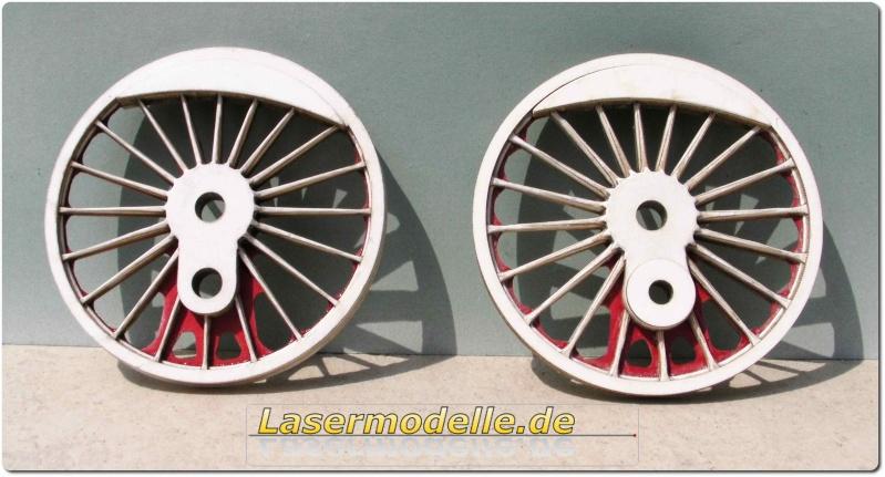 LC-Treibräder für die PU 29 in 1:25 Sany2712