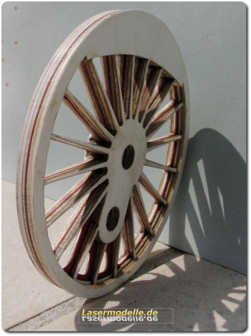 LC-Treibräder für die PU 29 in 1:25 Sany2716