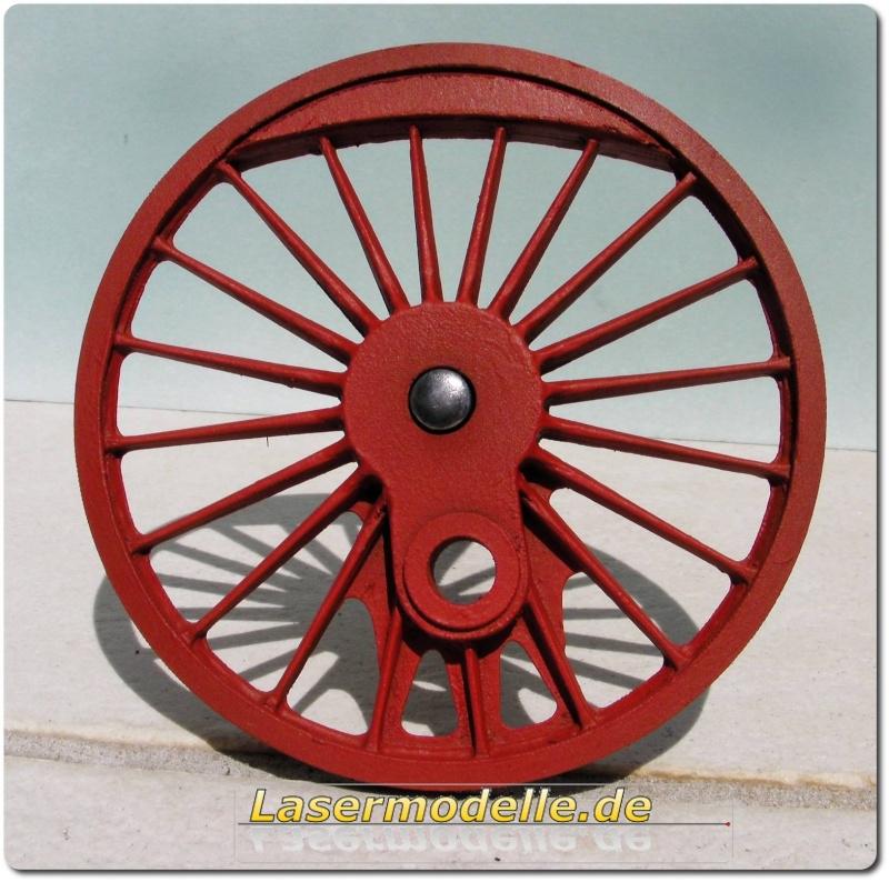 LC-Treibräder für die PU 29 in 1:25 Sany2722