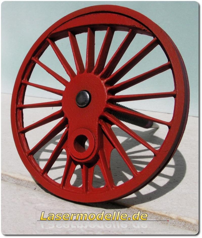 LC-Treibräder für die PU 29 in 1:25 Sany2723