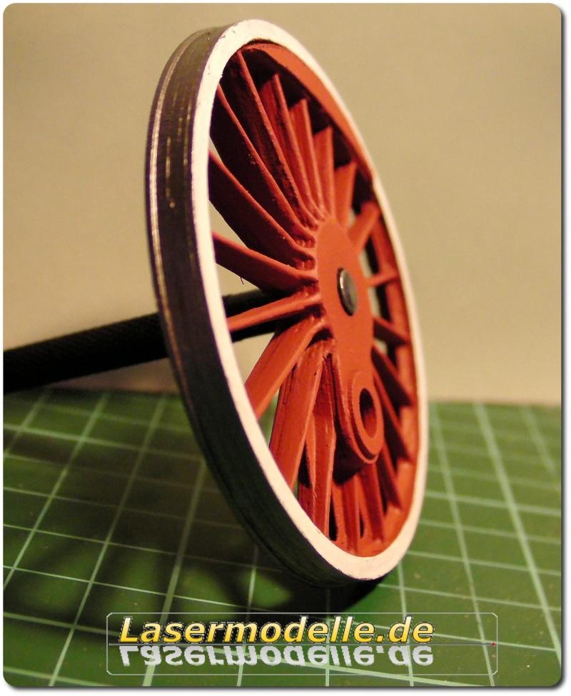 LC-Treibräder für die PU 29 in 1:25 Sany2730