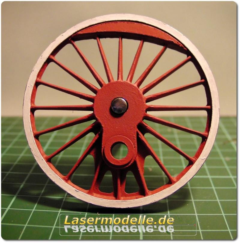 LC-Treibräder für die PU 29 in 1:25 Sany2731