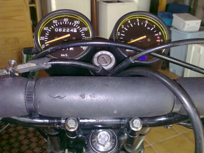 Frottement gaine de frein dans clé 29012011