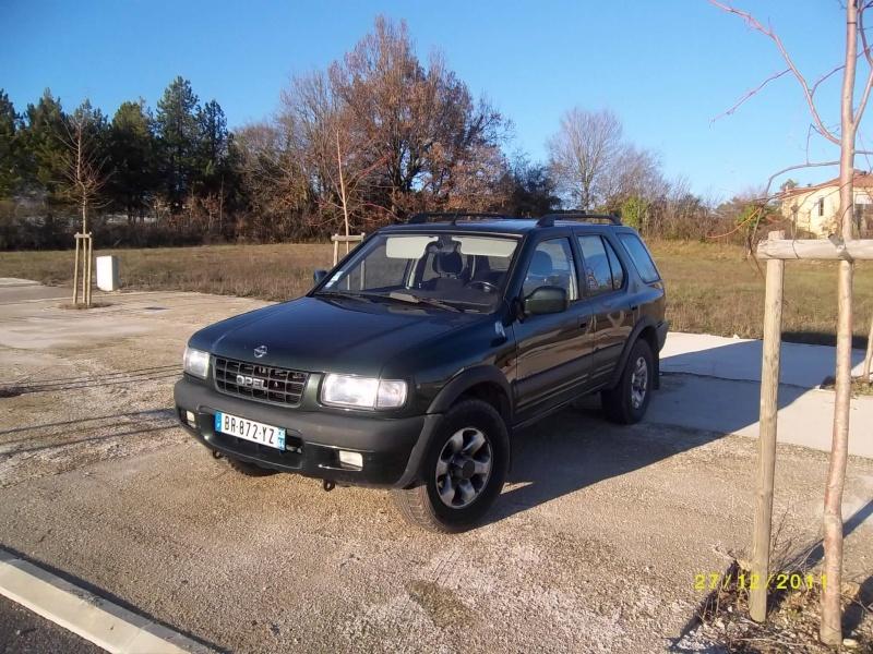 4x4 Opel Frontera 2.2 tdi 16v long Imgp0743