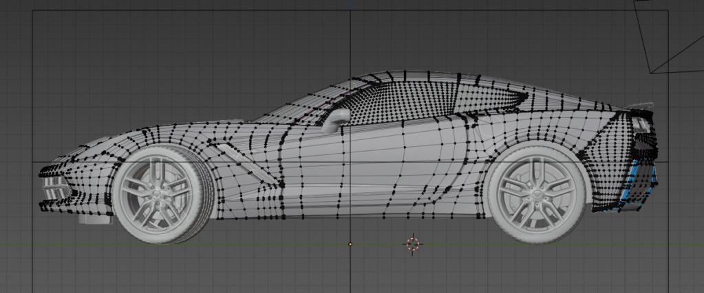 (WIP) Corvette stingray Mailla10
