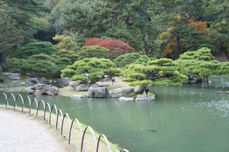 voyage au Japon 2011: parc Ritsurin  Dsc00451