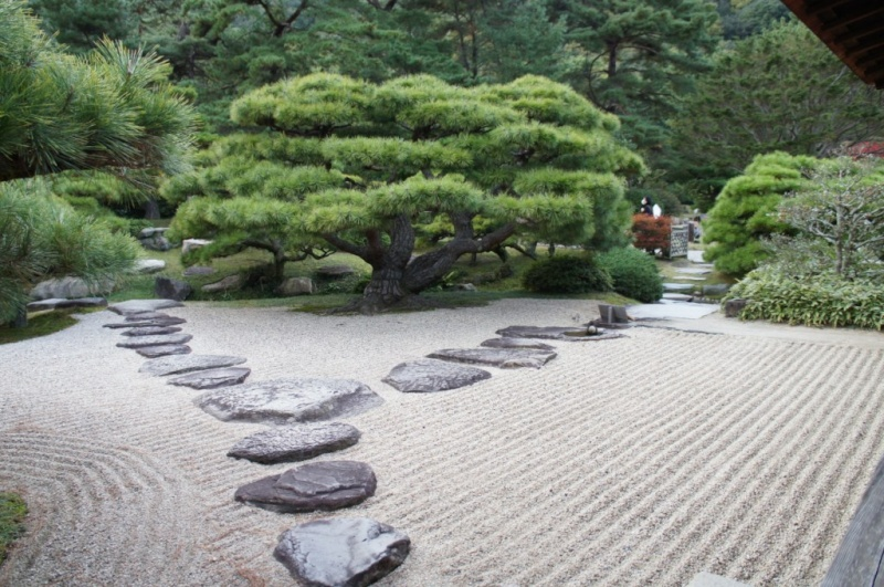 voyage au Japon 2011: parc Ritsurin  Dsc00455