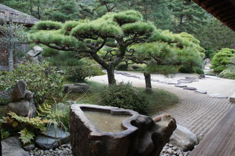 voyage au Japon 2011: parc Ritsurin  Dsc00459