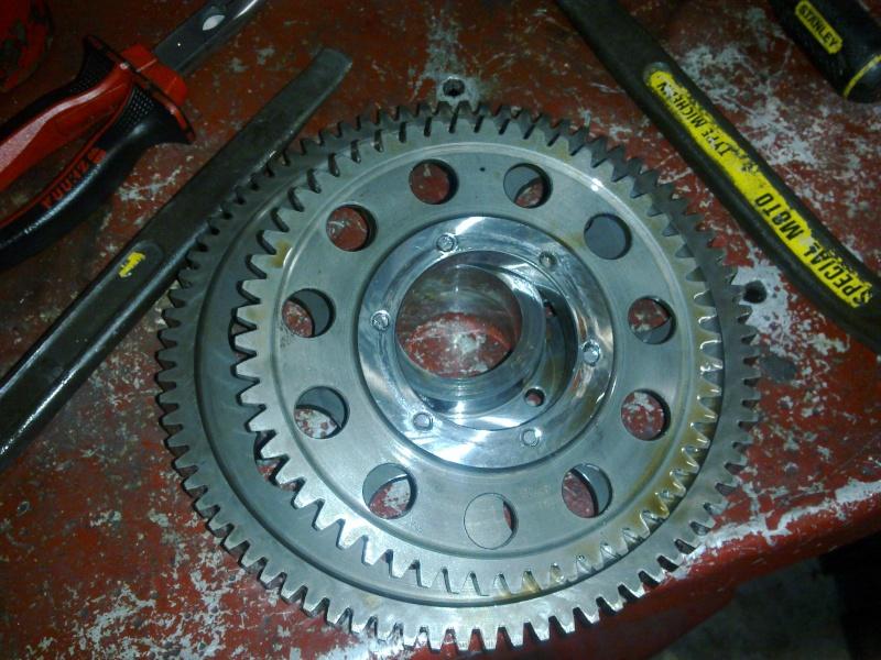 fini les vibrations!! par contre casse et démarreur n'entraine plus le moteur 19012011