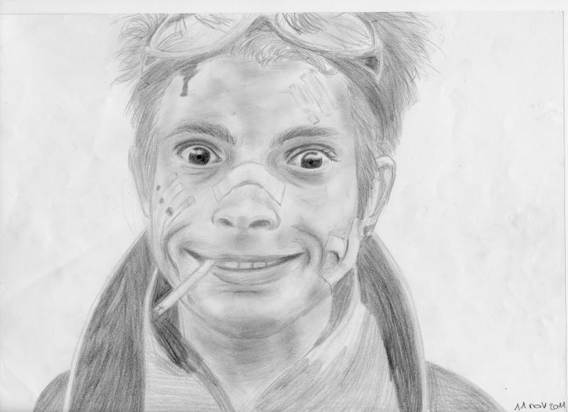 [Dessins] Portraits & fanarts de Mély Visite10