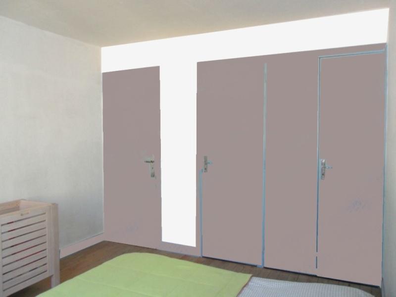 Dégagement vers chambre et garage à peindre - help CoUlEUrS ! Buro_217