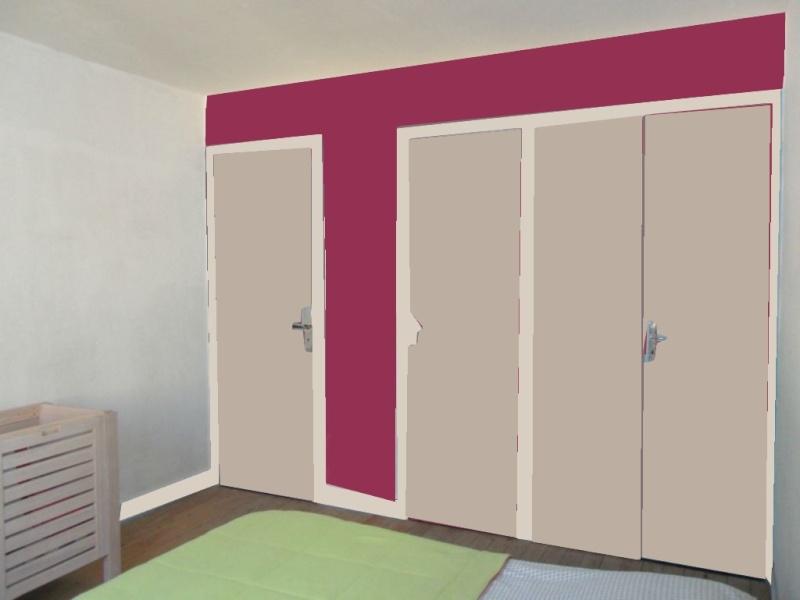 Dégagement vers chambre et garage à peindre - help CoUlEUrS ! Buro_218