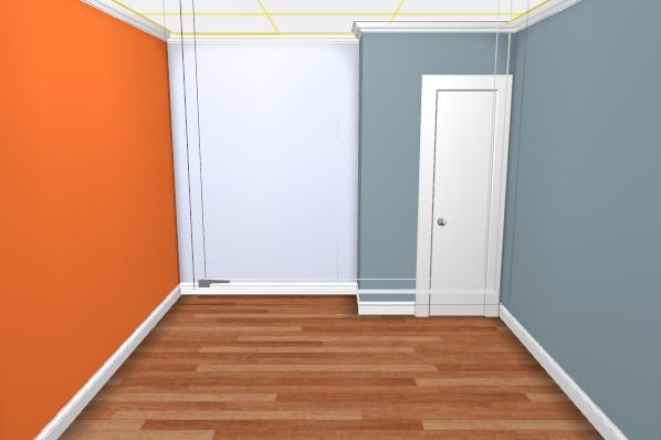 Maison en rénovation : chambre de petit garçon à peindre - avant/après page 2! - Page 2 Chambr18