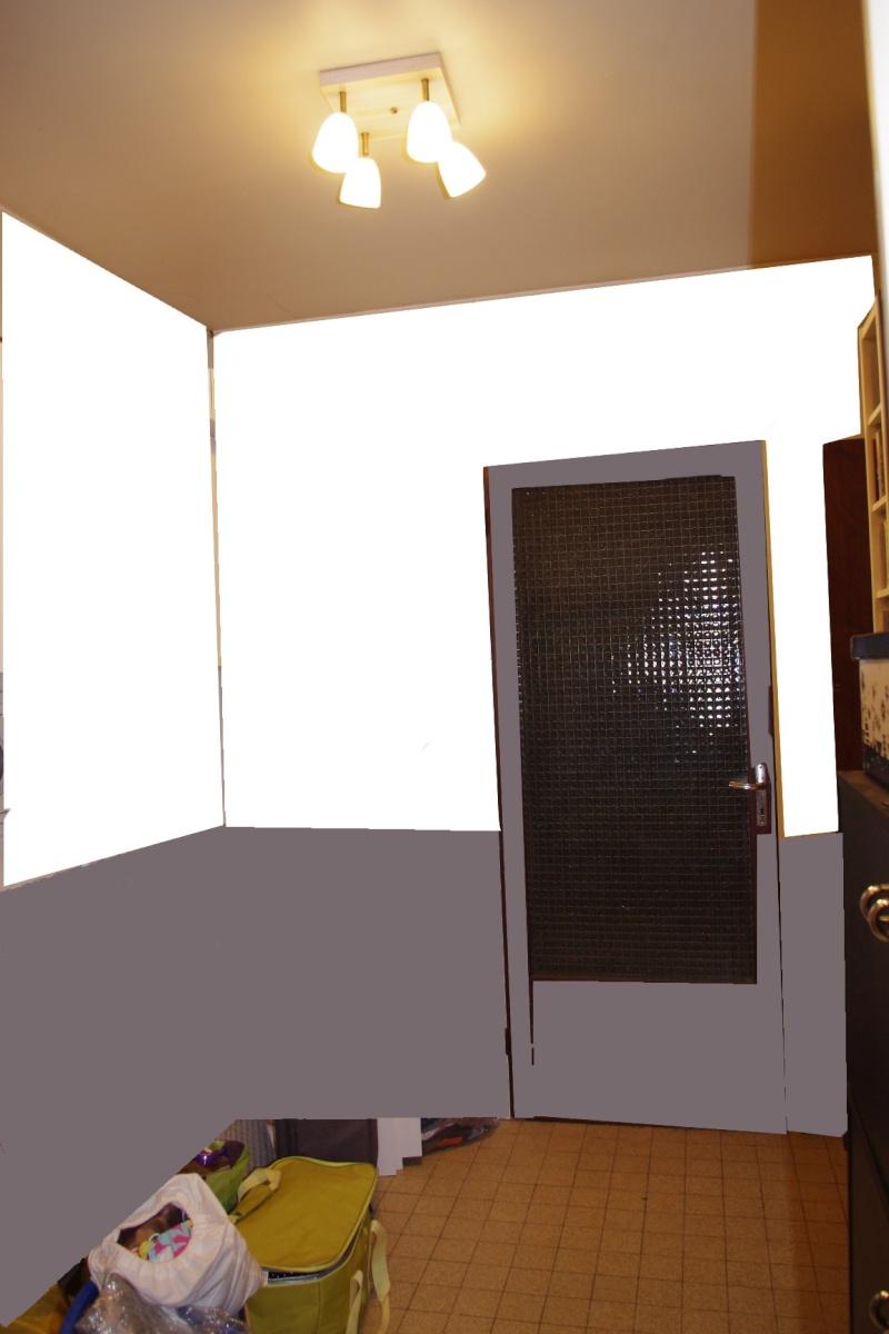 Dégagement vers chambre et garage à peindre - help CoUlEUrS ! Chbre_19