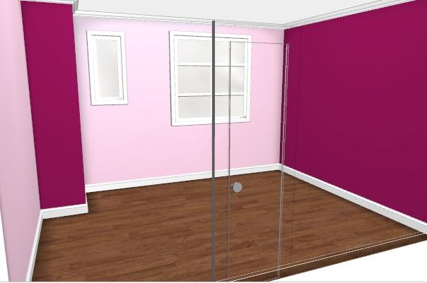 Maison à rafraîchir : La chambre de ma fille de 2 ans ? 2 murs peints, ça avance ! Page 4 Rose1_11