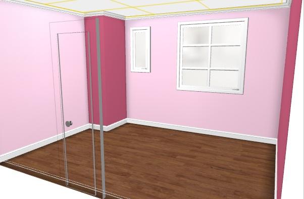 Maison à rafraîchir : La chambre de ma fille de 2 ans ? 2 murs peints, ça avance ! Page 4 Rose2_10