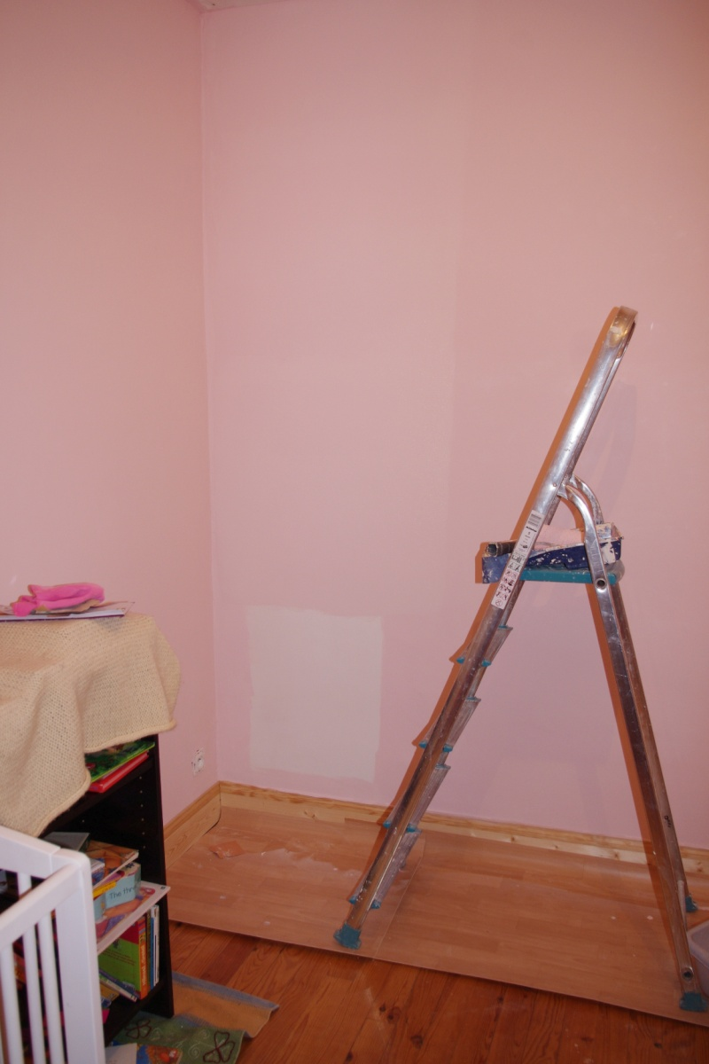 Maison à rafraîchir : La chambre de ma fille de 2 ans ? 2 murs peints, ça avance ! Page 4 - Page 4 Rose_c15