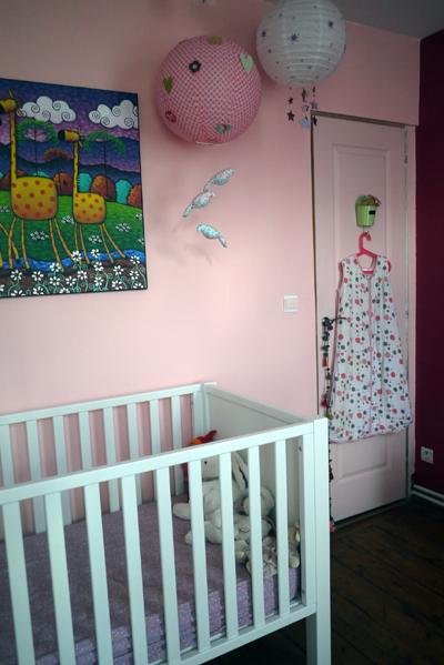 Maison à rafraîchir : La chambre de ma fille de 2 ans ? 2 murs peints, ça avance ! Page 4 - Page 4 Rose_c20