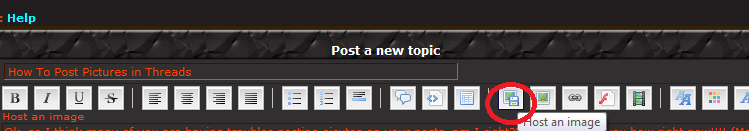 How To Post Pictures in Threads Fm210