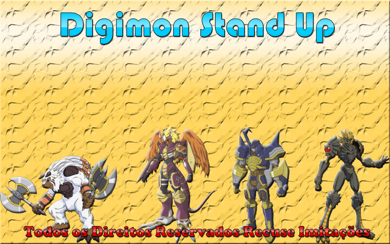 Digimon Stand Up