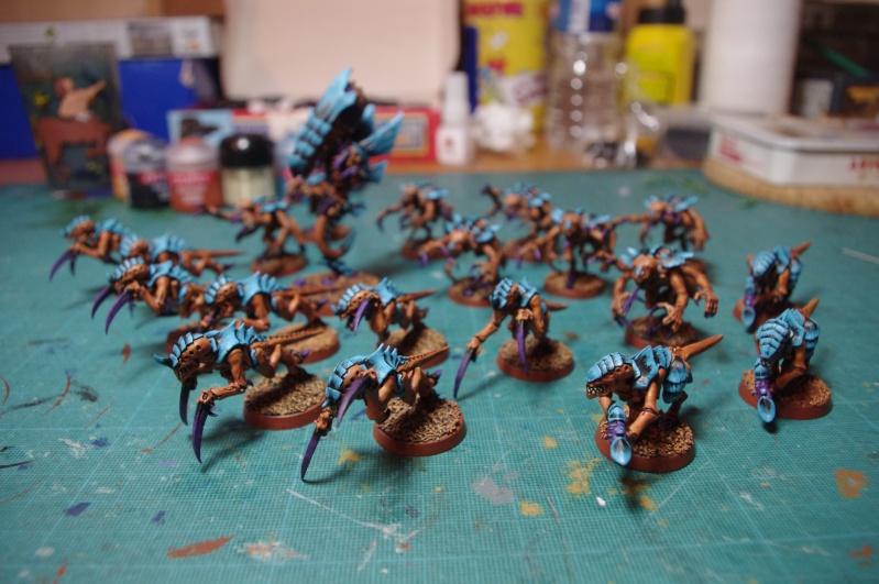 [tyranides] mon schéma de couleur pour la flotte ruche mésa. Imgp3610