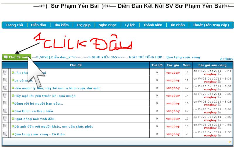Hướng dẫn gởi bài viết mới lên diễn đàn SPYB Bai_mo10